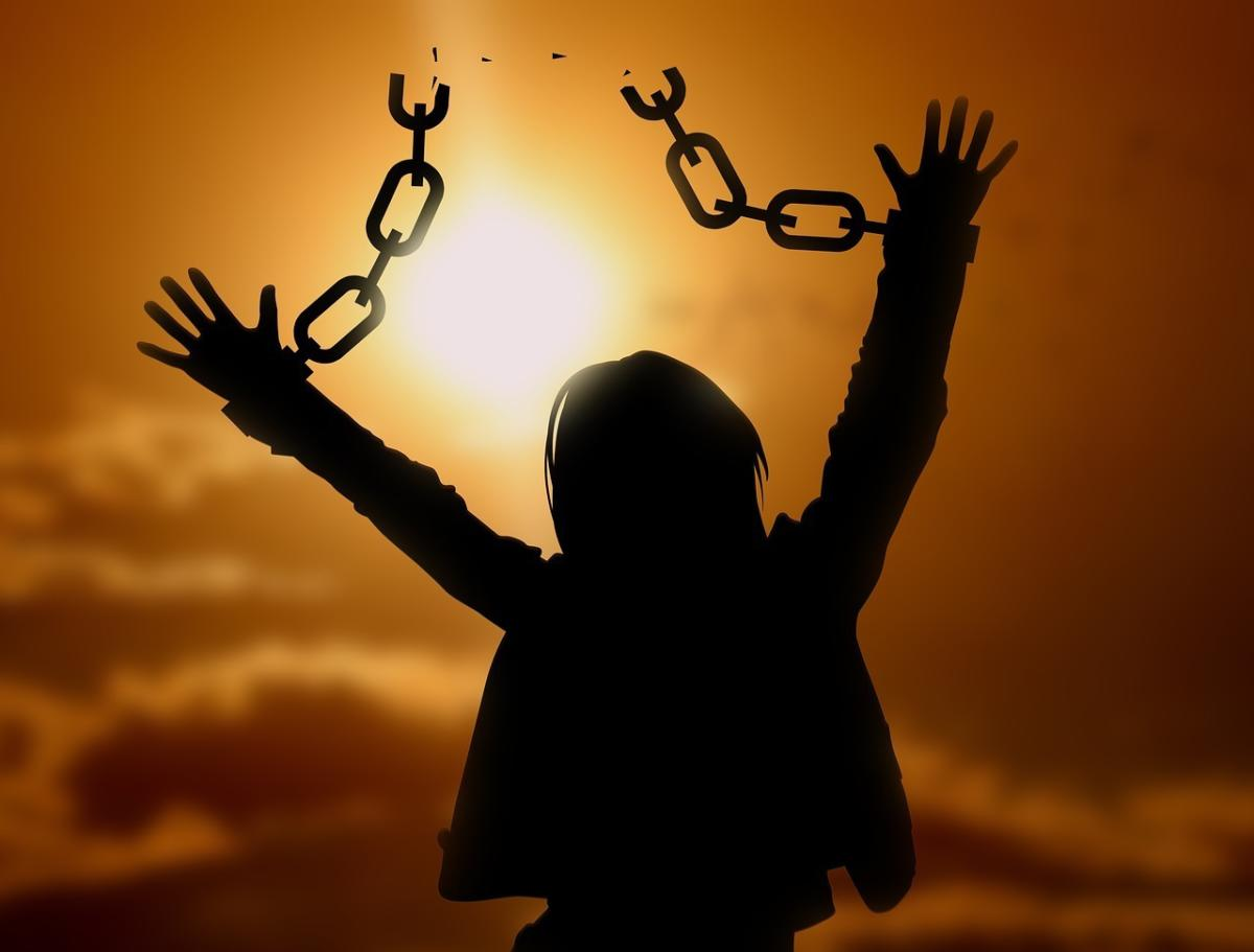 freedom broken chains
