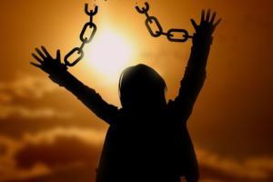 freedom broken chains