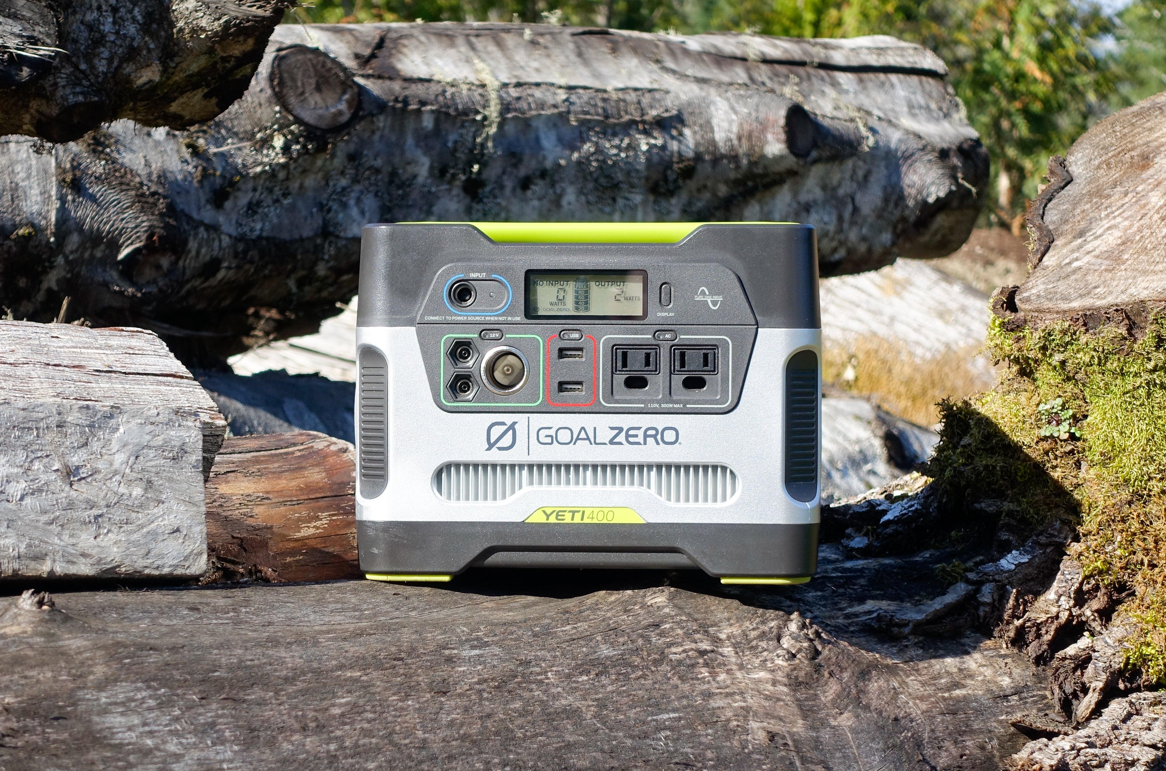 Goal Zero Yeti 400 Portable Power Station Review Reliable