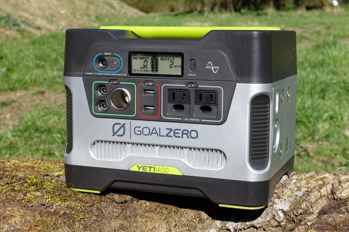 Goal Zero Yeti 400 Portable Power Station review: Reliable