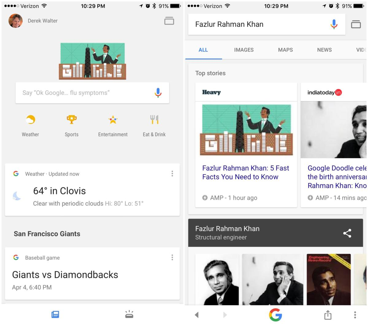 10 tips and tricks to master the Google app for iPhone | Macworld