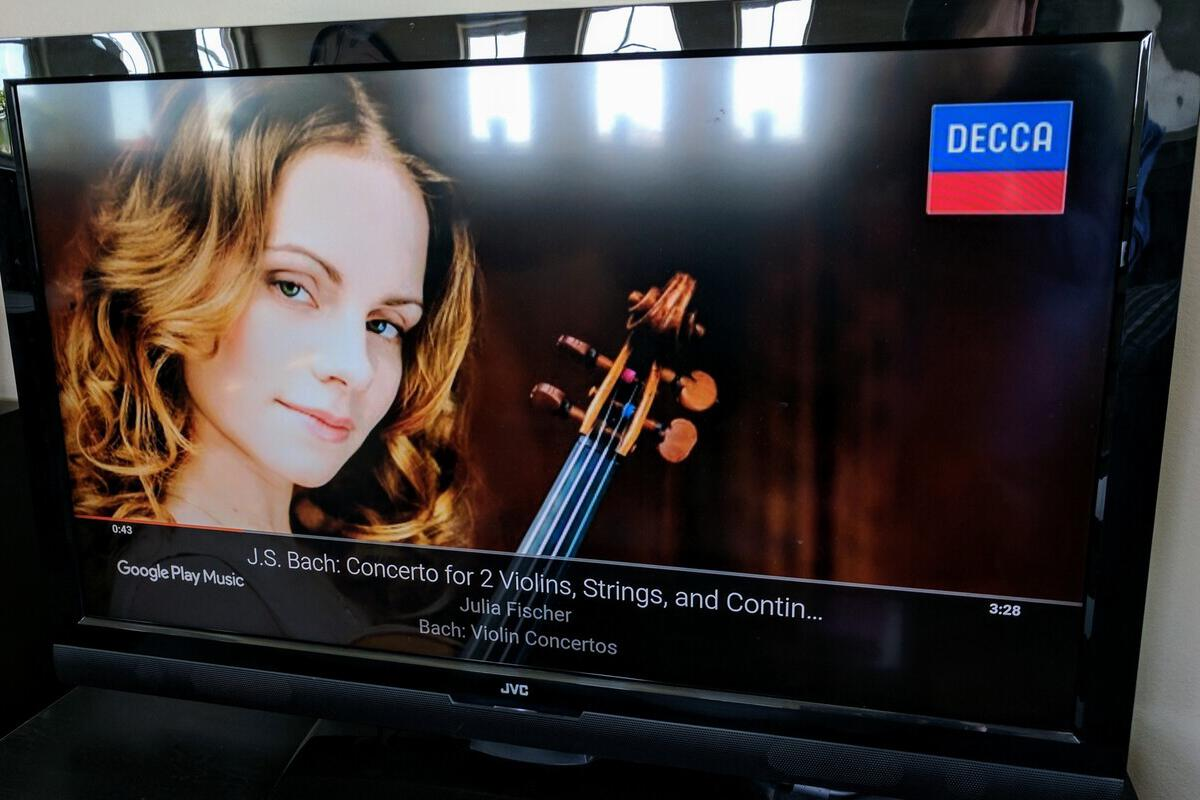 google play music chromecast