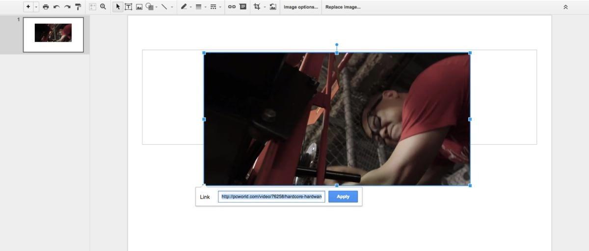 google slides video link