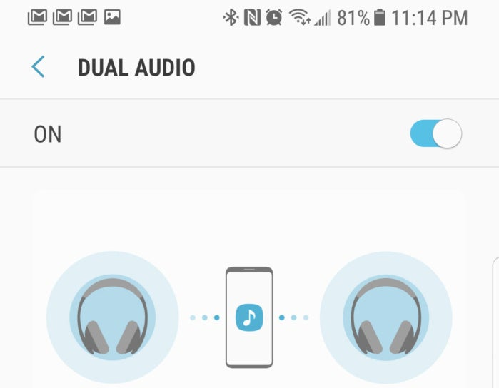 gs8 tips dual audio