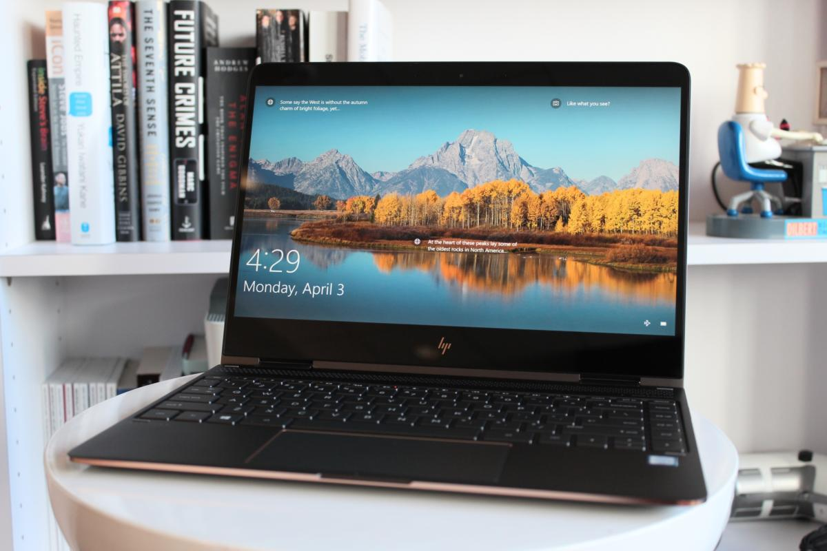 aa0f2a99e63 HP Spectre x360 (2017) review: The best just keeps getting better ...