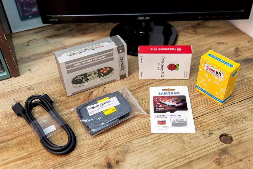 How to build a Raspberry Pi retrogaming emulation console