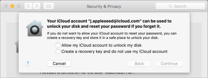 mac911 recovery key sheet