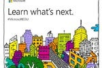 microsoft education event invitation larger