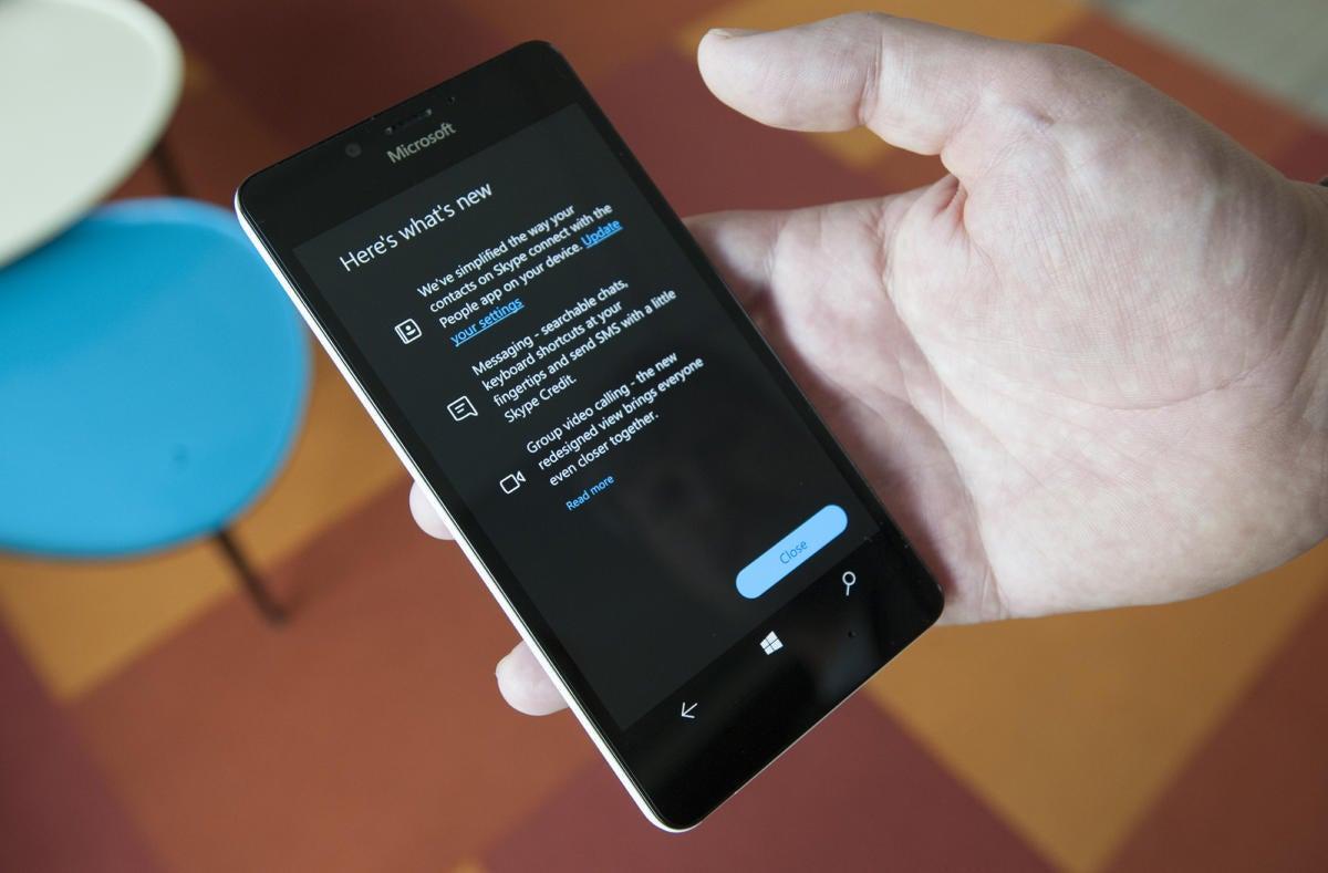 Microsoft Windows Phone Creators Update
