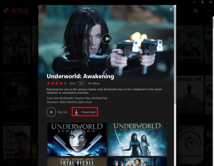 How to watch Netflix offline on your PC | PCWorld