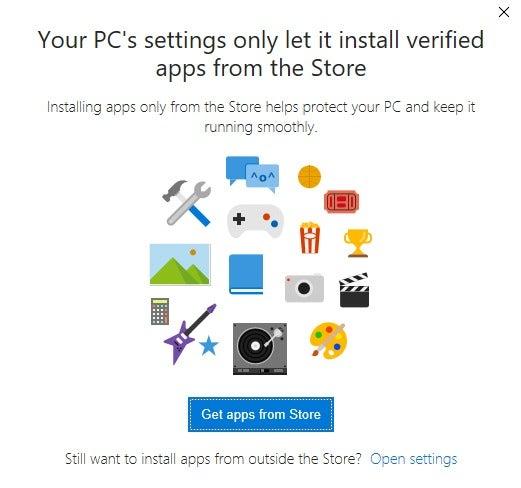 install windows store