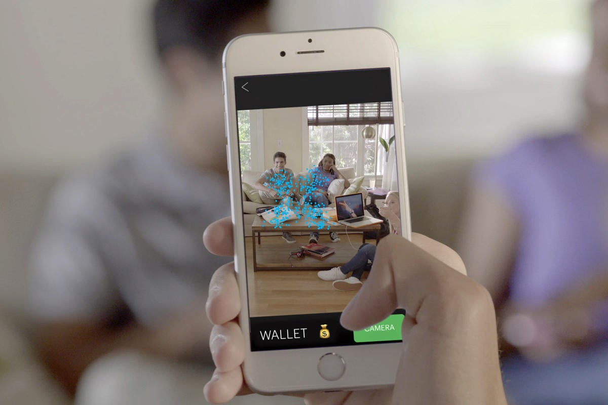 Pixie tracker augmented reality app