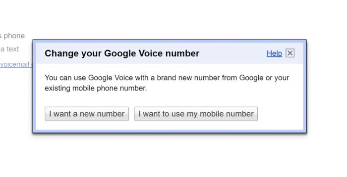 port to google voice