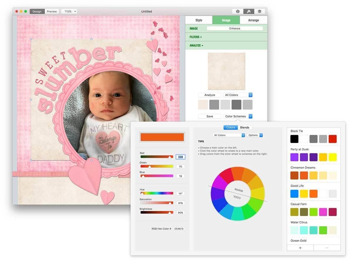 printlife 4 color scheme