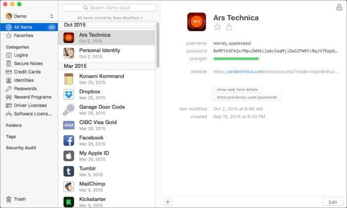 privatei 1password app macos