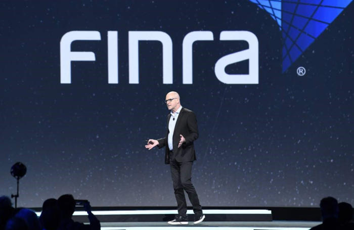 randich speaking CIO FINRA AWS