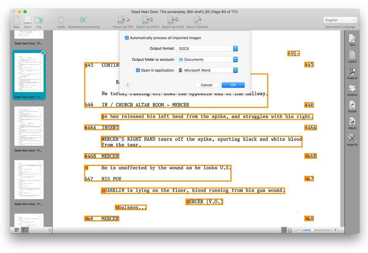 Abbyy Finereader Ocr Pro For Mac readiris pro 16 review: mac ocr software more focused on