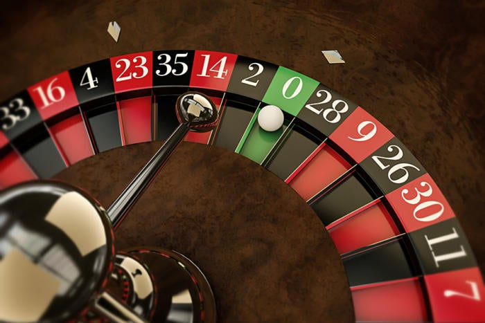 roulette wheel zero