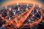 smart city pins iot navigation