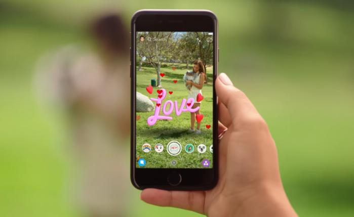 snapchat 3d world lenses 2