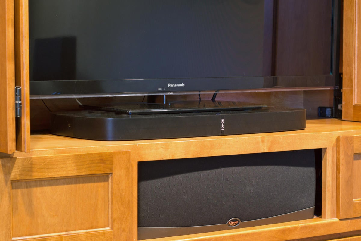 Sonos Playbase in home theater