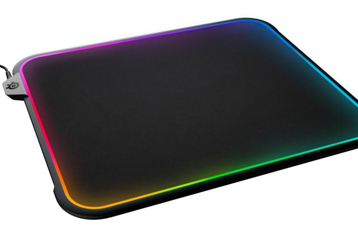 The SteelSeries Qck Prism is the first dual-sided RGB mousepad