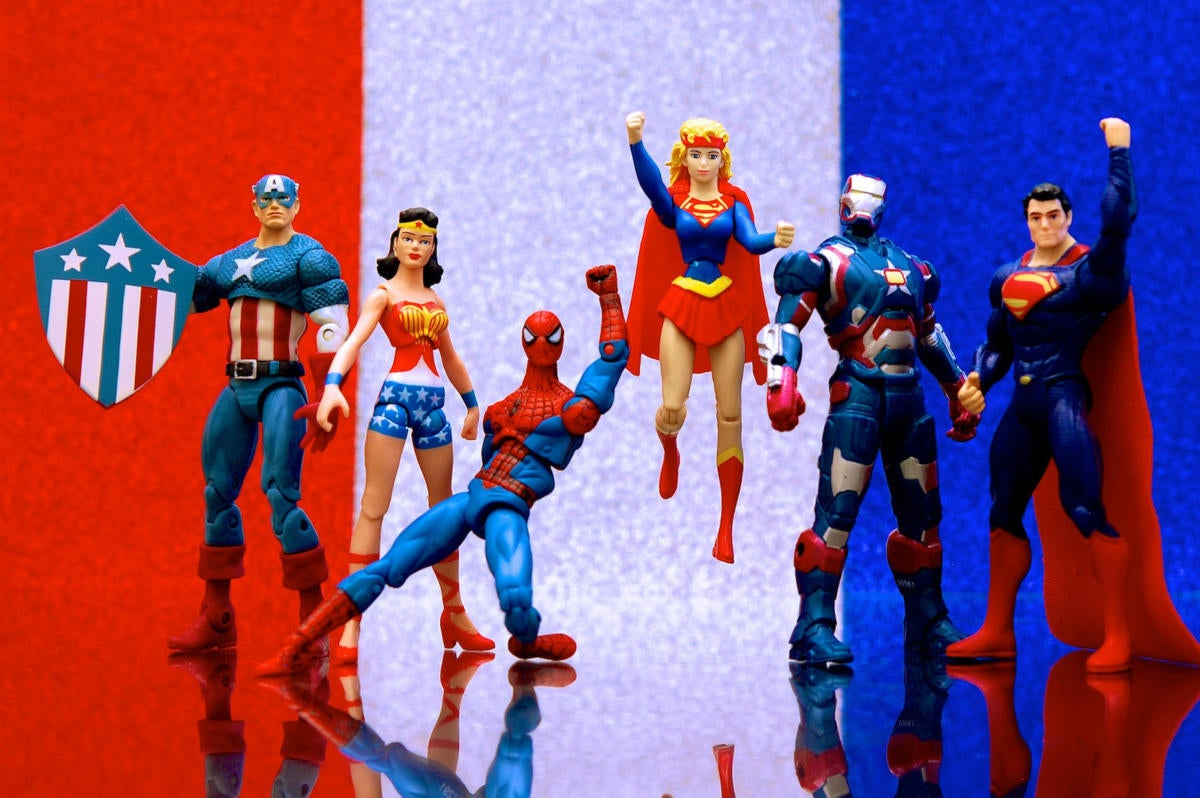 9 superheroes for crack security teams