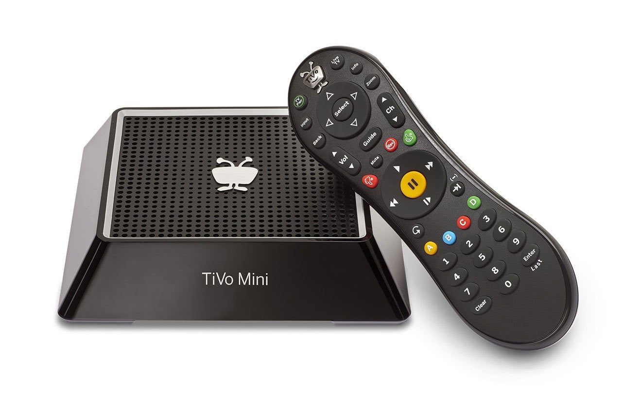 Watch TiVo on another TV with TiVo Mini