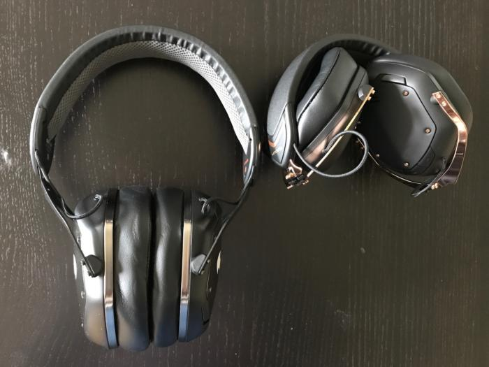 V-Moda crossfade wireless compact size