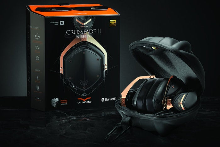 V-Moda rose gold Crossfade 2 Wireless package