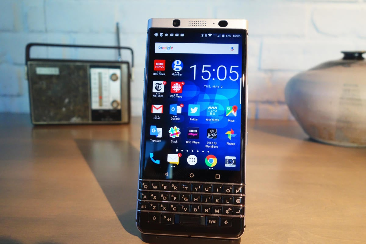 BlackBerry KeyOne hands-on: A physical keyboard makes