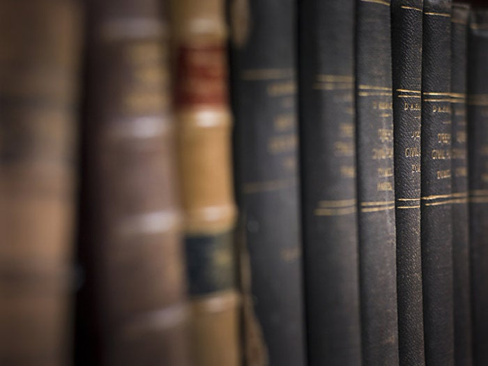 3 legal law books
