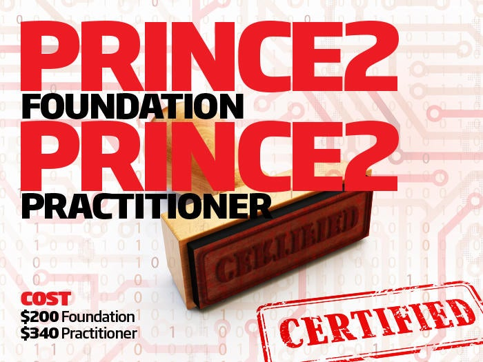 PRINCE2 Foundation/PRINCE2 Practitioner certifications
