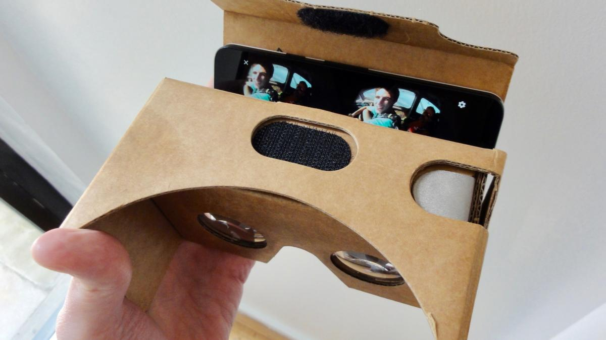 View a video in virtual reality