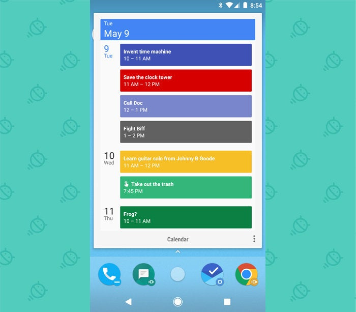 Action Launcher Android: Shutters