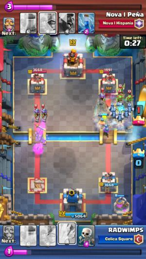 clashroyale crownchamp gameplay