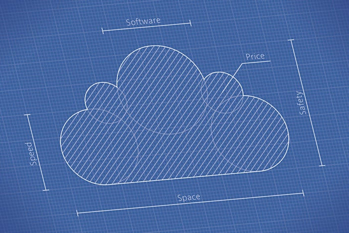 Cloudblueprintschematic 100722515 large3x2g the cloud in cloud computing originated from the habit of drawing the internet as a fluffy cloud in network diagrams no wonder the most popular meaning malvernweather Image collections