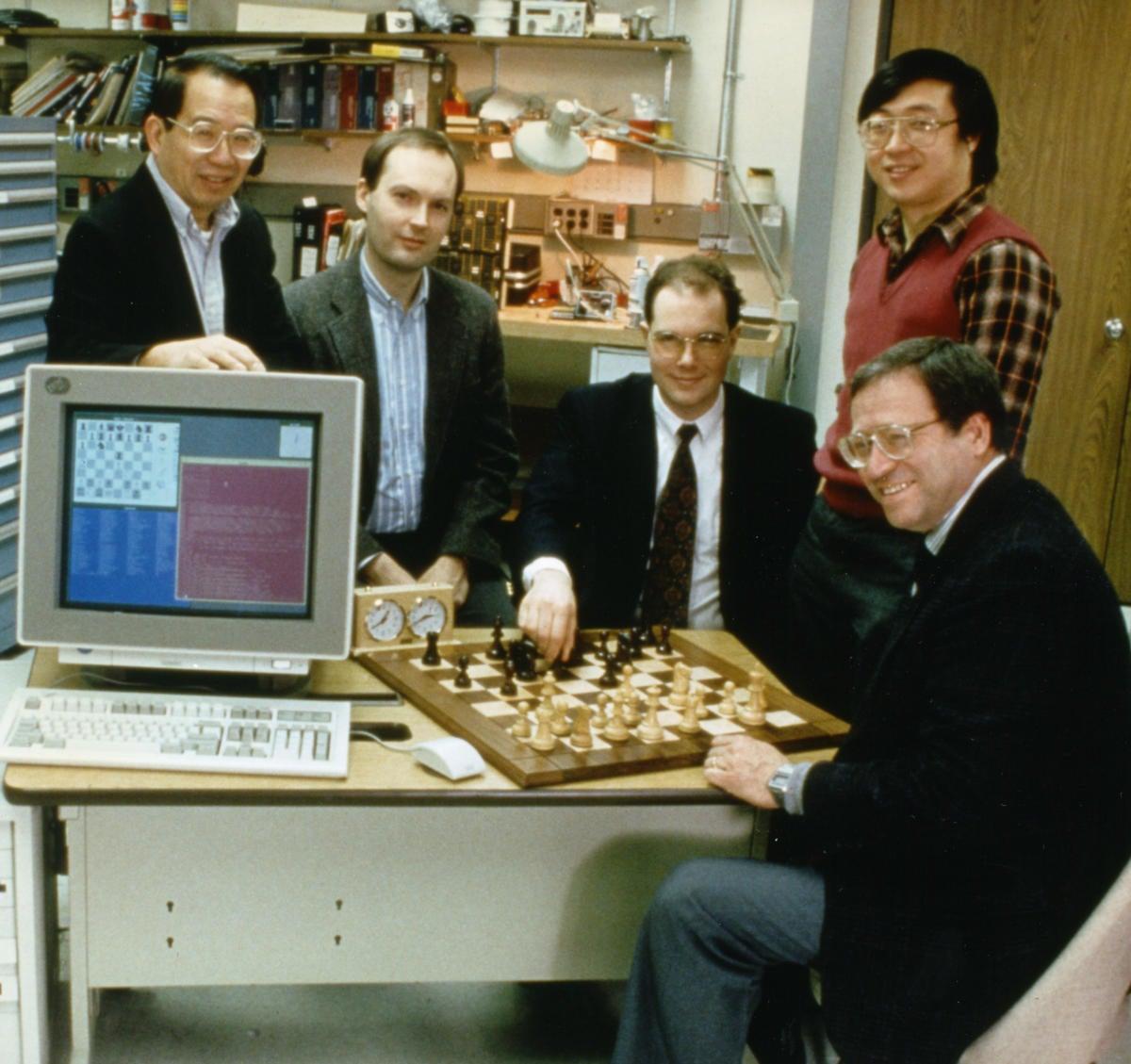 deepblue team 1996