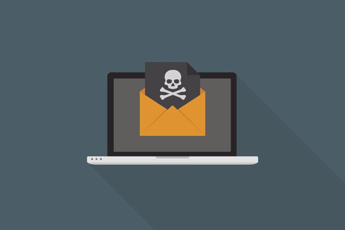 email virus threat attack