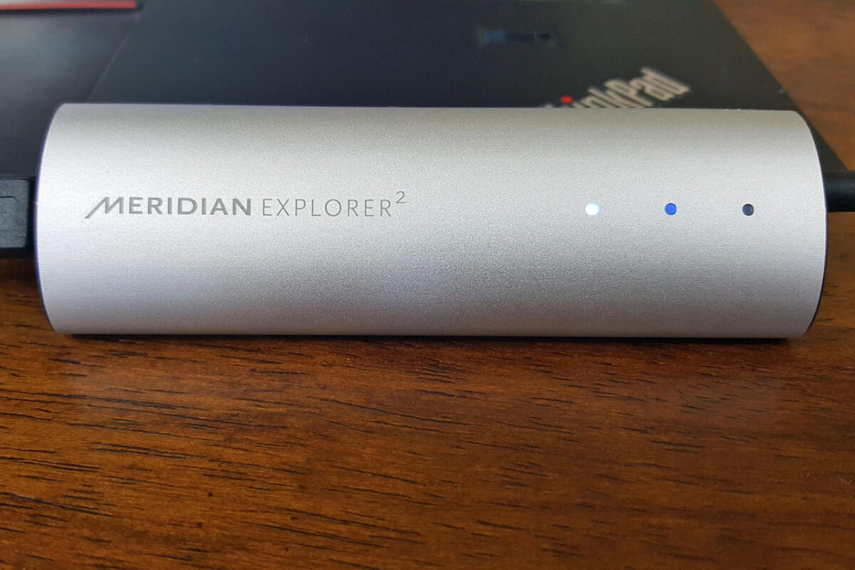 Meridian Explorer2 USB DAC review: Inexpensive path to high-res