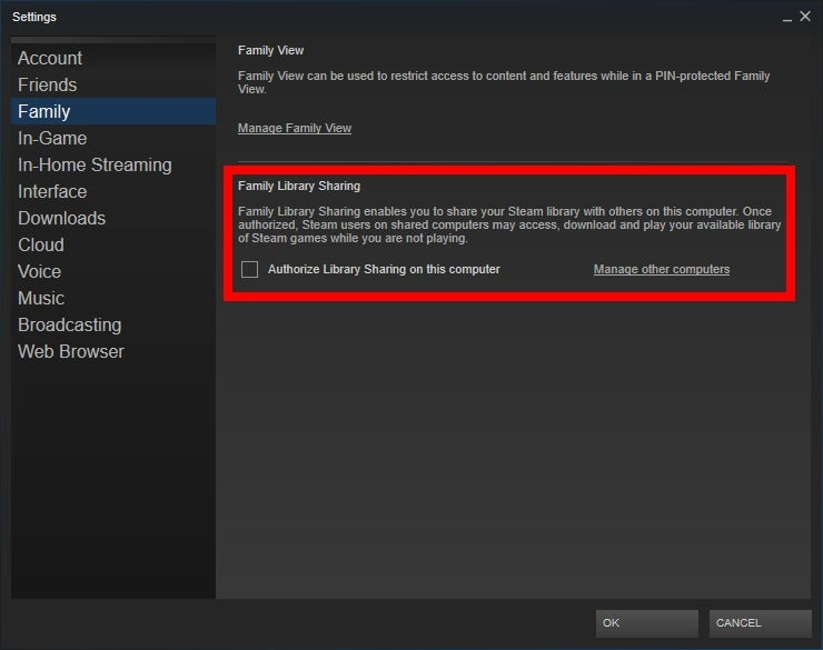Image result for How to share your Steam Gaming Library with others?