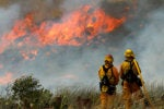 Technology helps first responders fight California fires