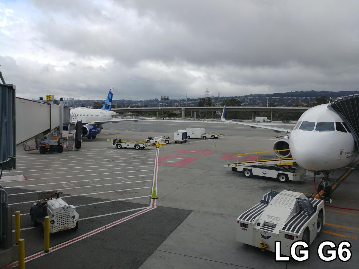 g6 gs8 camera shootout g6 airport