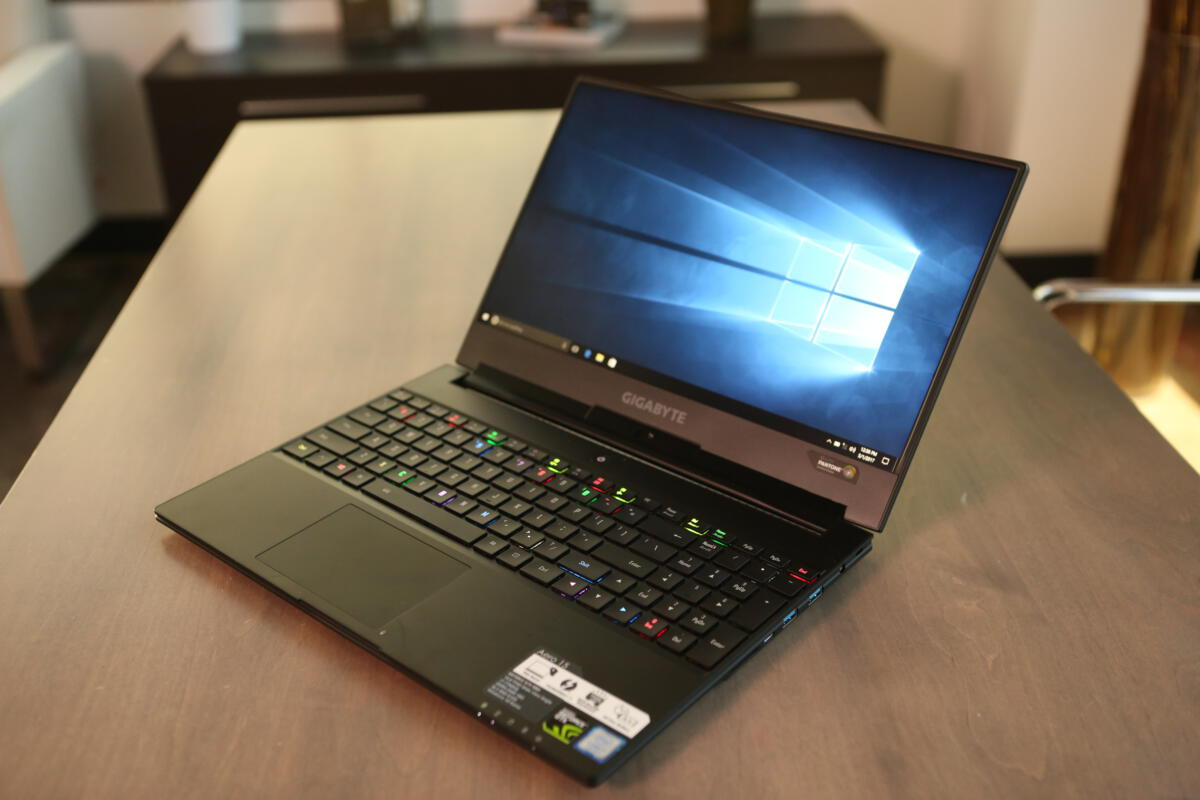 Hands On Gigabyte S Aero 15 Pushes Gaming Laptop To New