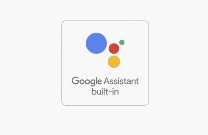 google assistant built in