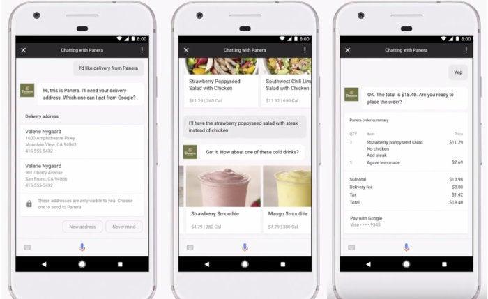 google assistant iphone ios