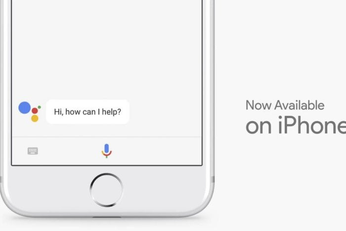 iPhone users can now install the voice-enabled Google