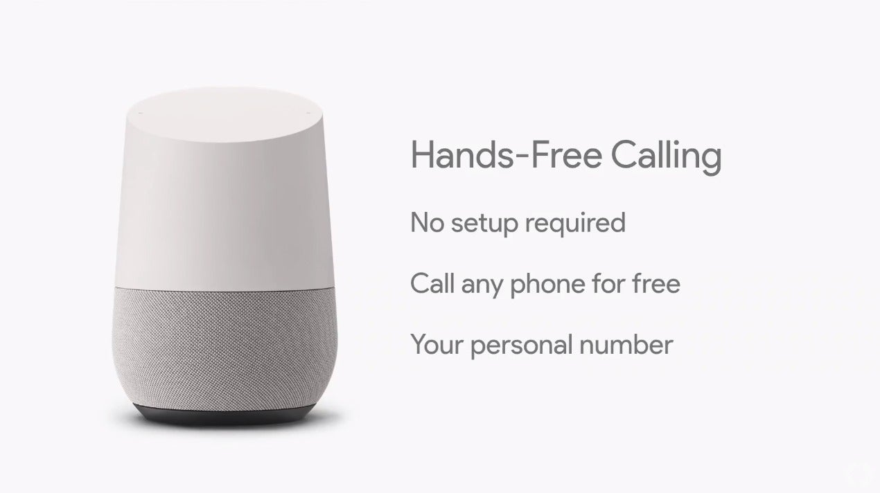 google home gets hands free calling and 6 other cool new features