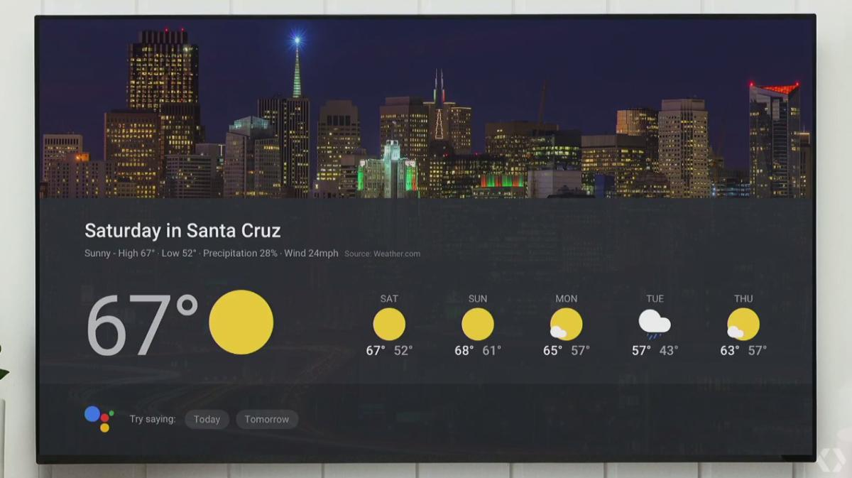google home google io visual response
