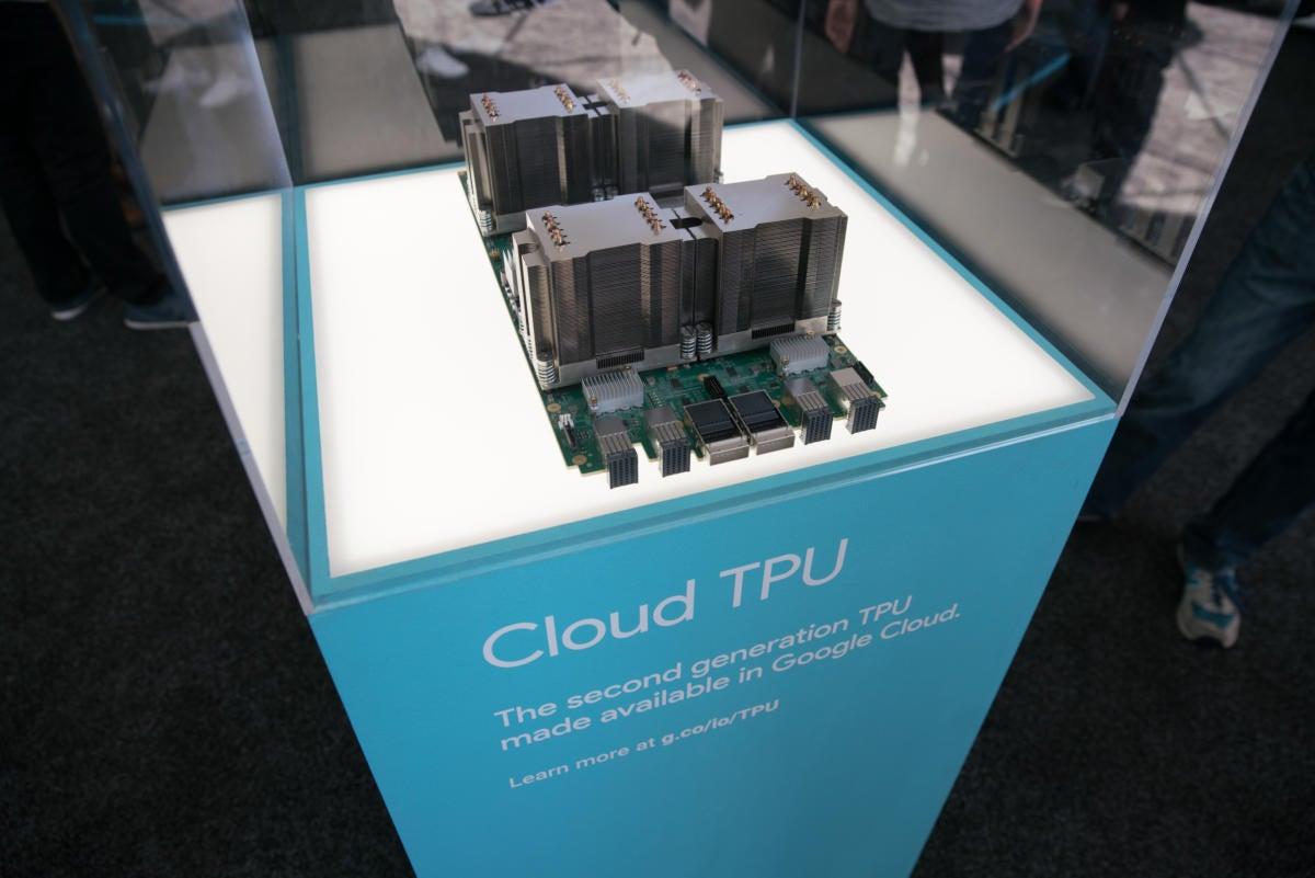 google io 2017 cloud tpu